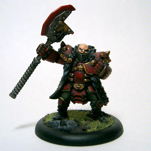 Butcher, Khador, Warmachine