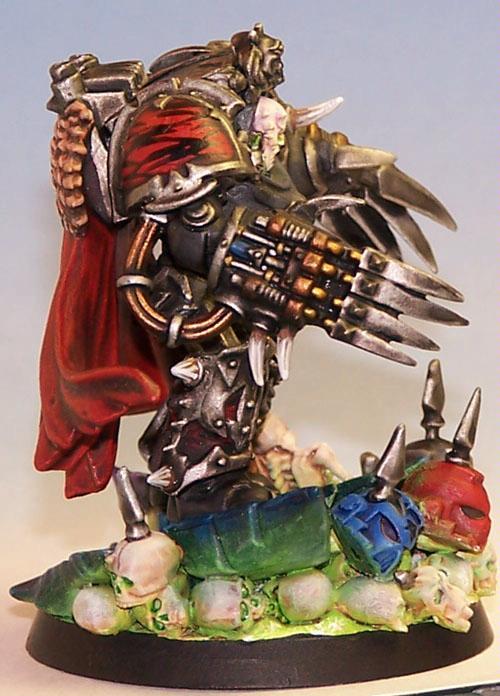 Chaos Lord, Lightning Claws, Skull, Terminator Armor