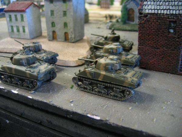 15mm, Action, Flames Of War, Sherman, Tank, World War 2