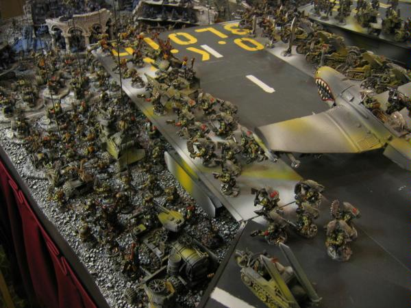 Aircraft Carrier, Army, Orks