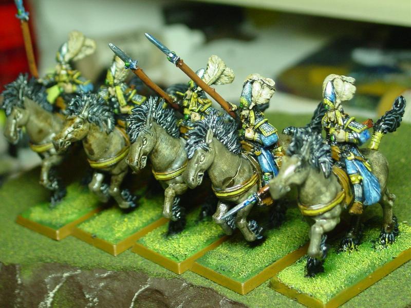 Ellyrian Reavers, Fast Cavalry, High Elves, Warhammer Fantasy