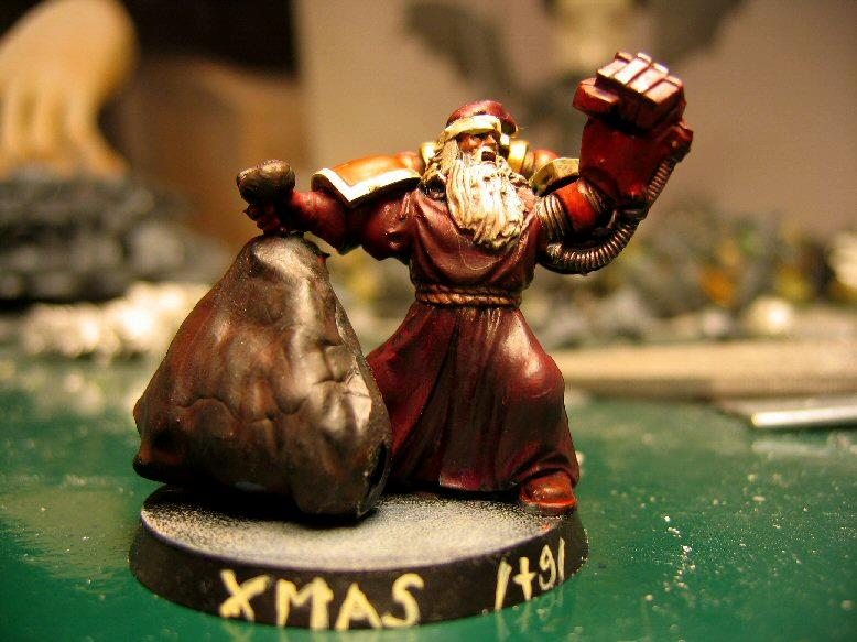 Christmas, Conversion, Humor, Santa Claus, Space Marines, Warhammer 40,000