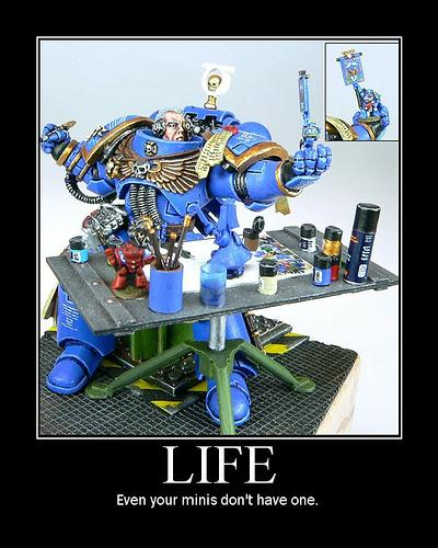 A Space Marine S Hobby Amicus Aedes The Bolter And