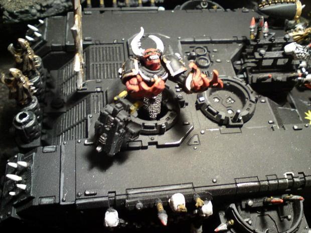 Chaos, Chaos Space Marines, Land Raider, Warhammer 40,000