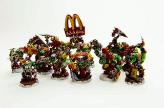 Crazy, Humor, Mcdonalds, Nob, Nutjob, Orks, Warhammer 40,000