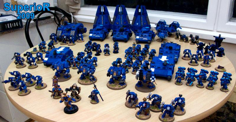 Ultramarines Army 40,000 Ways To ...