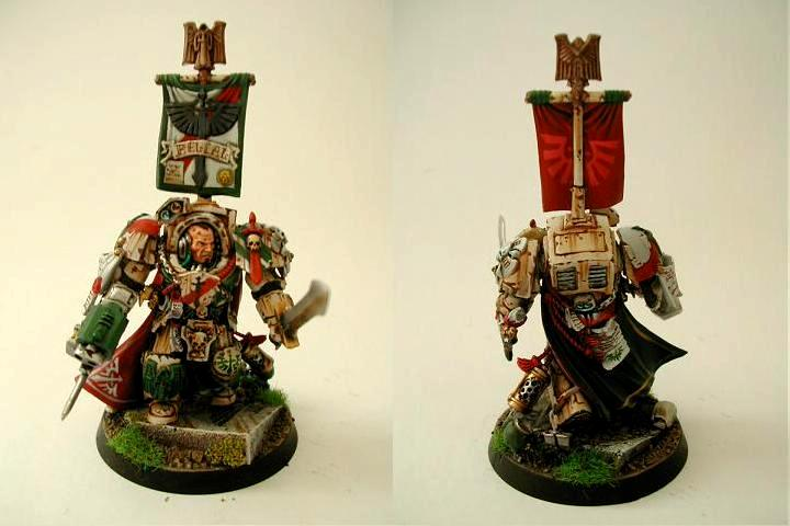 Belial, Dark Angels, Deathwing, Masterof The Deathwing, Space Marines, Terminator Armor