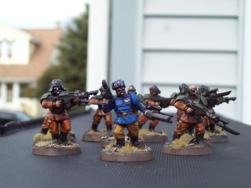 Cadian Bodies, Imperial Guard, Pig Iron, Pig Iron Heads, Warhammer 40,000