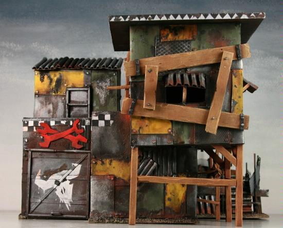 Garage Mechanic Mekboy Orcs Orks Scratch Build Space