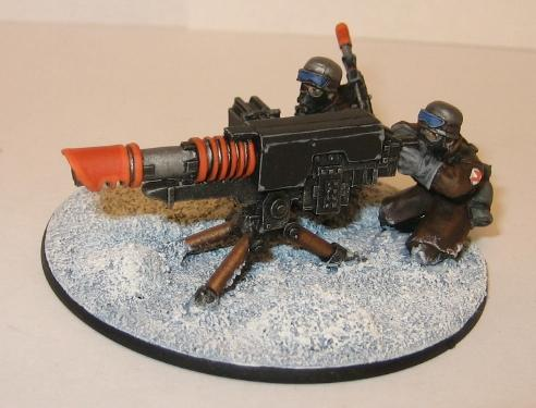 Imperial guard armoured fist
