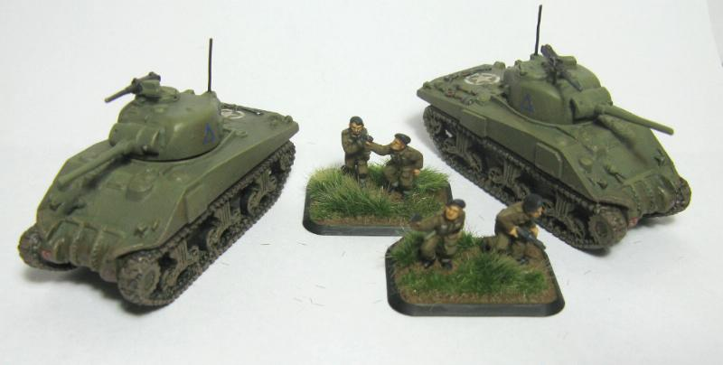 15mm, British, Flames Of War, Tank Crew, World War 2