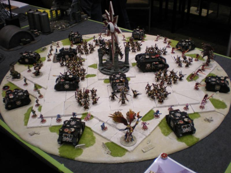Army, Chaos, Chaos Star, Display Board