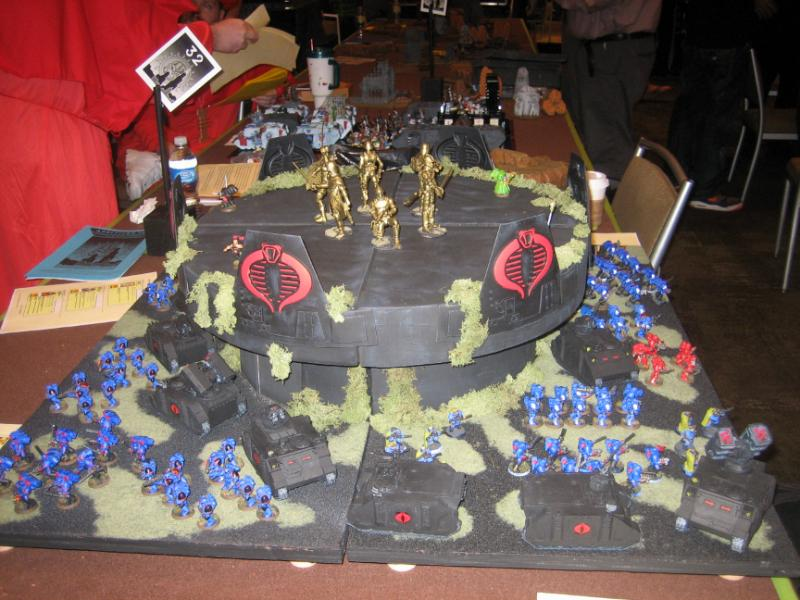 Adepticon 2009, Cobra, Gi Joe, Space Marines, Team Tournament ...