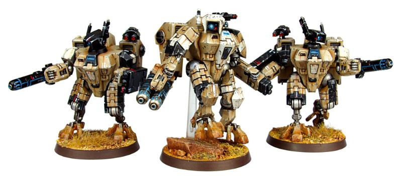 space marines in suits on hill