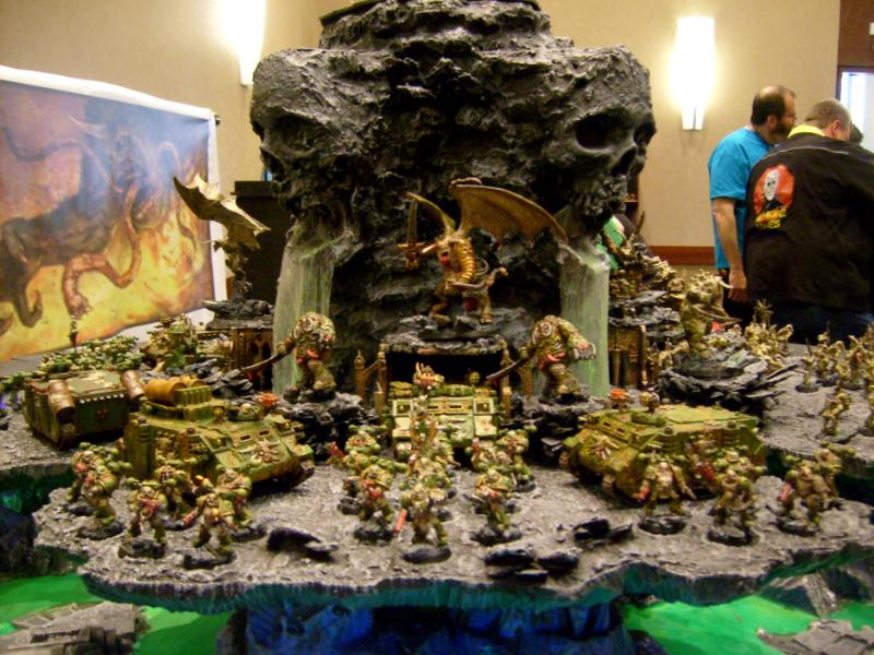 Adepticon, Adepticon 2009, Army, Display, Nurgle, Skull