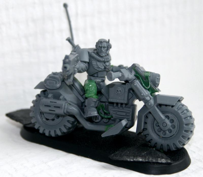Bike, Scouts, Space Marines