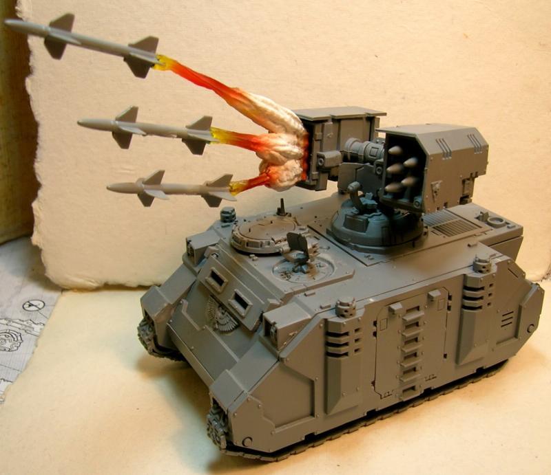 Predator, Space Marines, Tank, Warhammer 40,000, Whirlwind