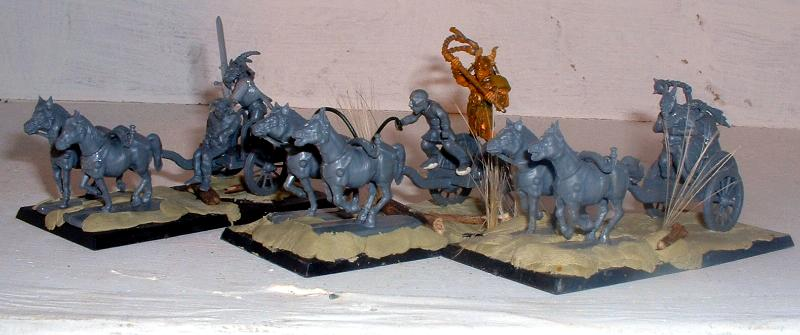 Beastmen, Celt, Chaos, Chariot, Nurgle, Wargames Factory