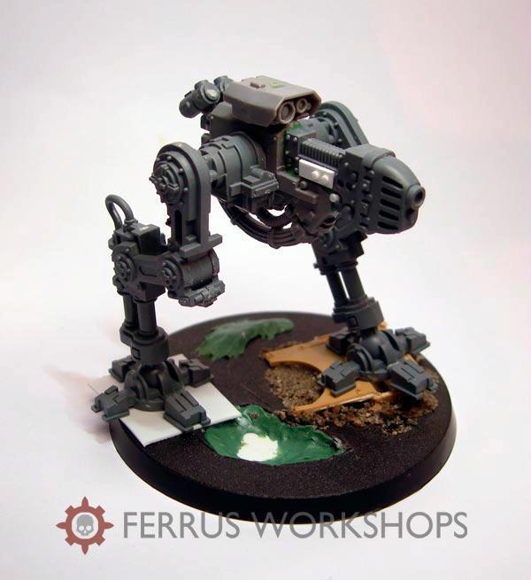 DakkaDakka - Gallery - Gun Servitor WIP01 - Adeptus Mechanicus ...