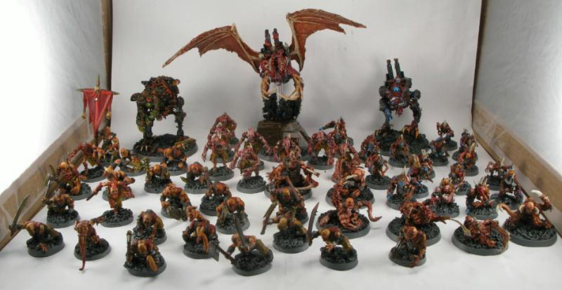 Army chaos daemons conversion daemons