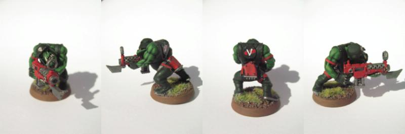 Blood Axe, Orks, Shoota Boyz, Warhammer 40,000