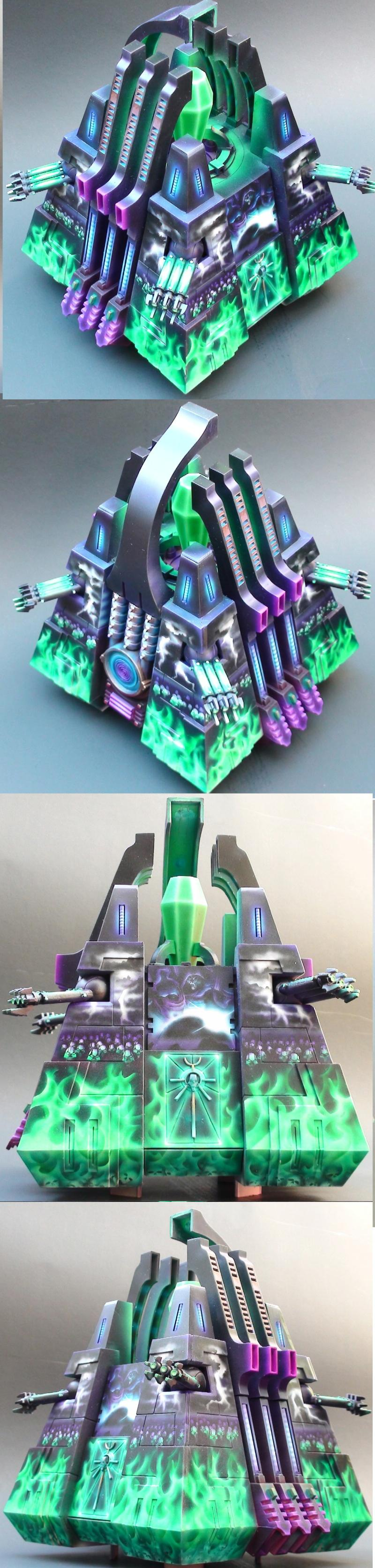 Awesome Paintjob, Freehand, Great Paintjob, Monolith, Necrons