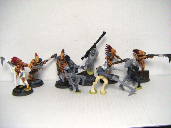 how to paint a tau kroot