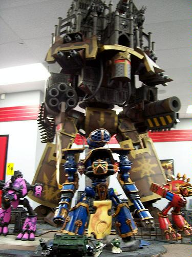 Building the Emperor Battle Titan  need tips and tons of