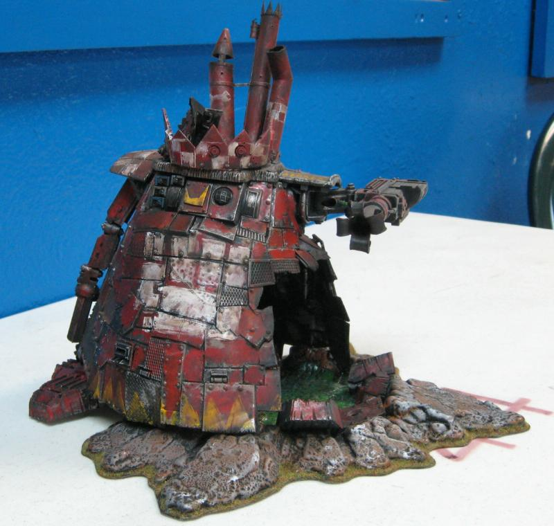 Ork Abuse, Orks, Stompa, Terrain, Warhammer 40,000
