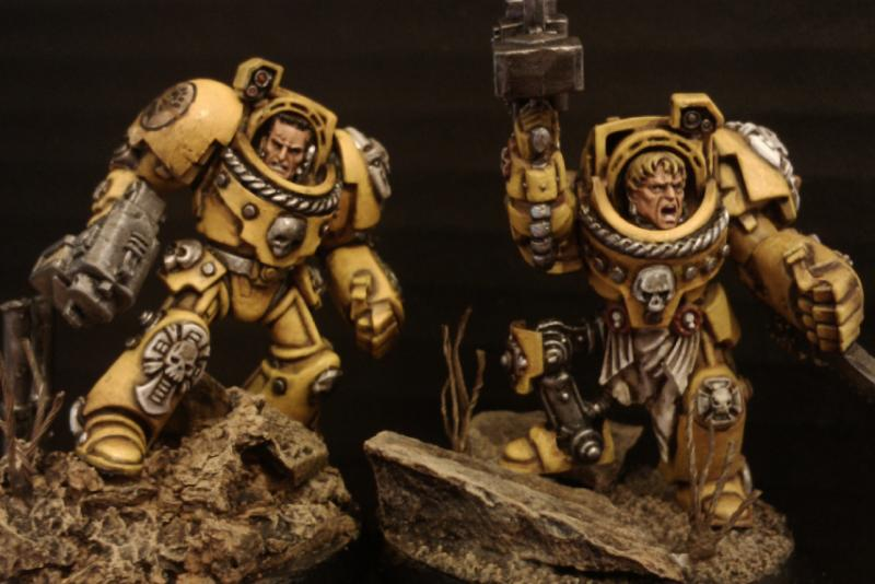 Imperial Fists, Space Marines, Terminator Armor