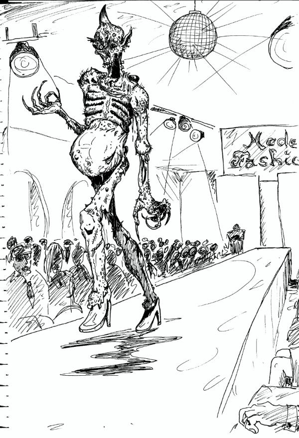 Crazy Cool Drawings 80´s Artwork Chaos Cool