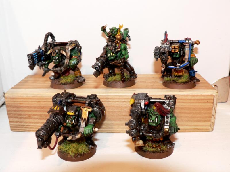 Bad Moons, Grots, Lootas, Mekboy
