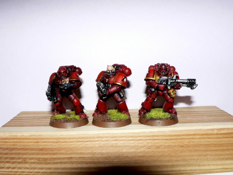 Assault On Black Reach, Flamer, Genesis Chapter, Tactical Squad