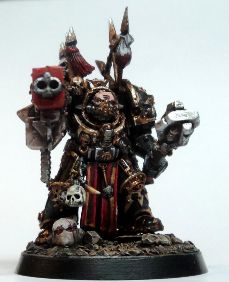 Black legion chaos terminator armor gallery dakkadakka