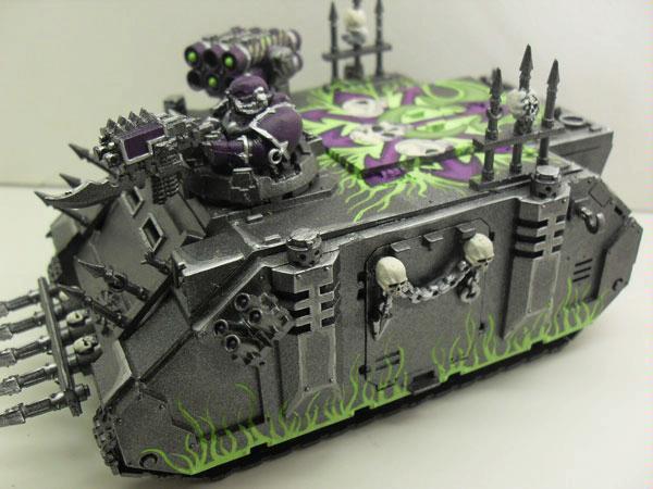 Chaos, Chaos Space Marines, Freehand, Rhino, Warhammer 40,000