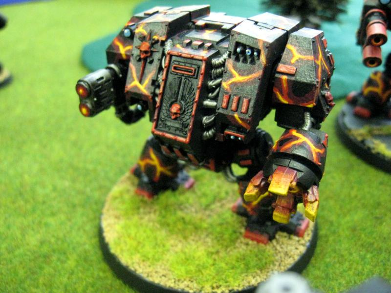 Chapter, Custom, Dreadnought, Land Raider, Predator, Rhino, Salamanders, Space Marines, Tactical, Terminator Armor, Vanilla, Vulkan