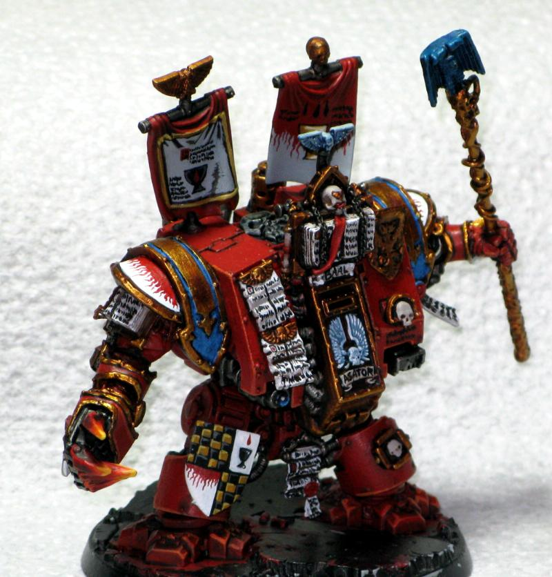 Blood Angels, Dreadnought, Librarian