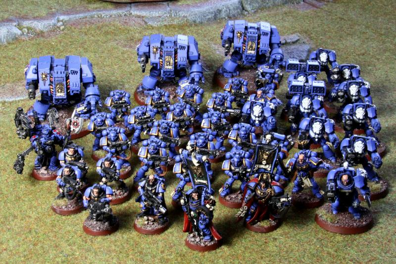 Ultramarines Army Army, Ultramari...
