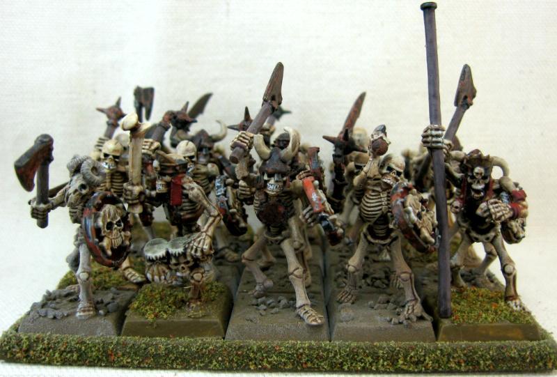 Vampire Counts, Skeleton Unit 4