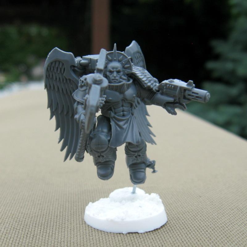 Blood Angels, Flesh Tearers, Resin Bases, Sanguinary Guard