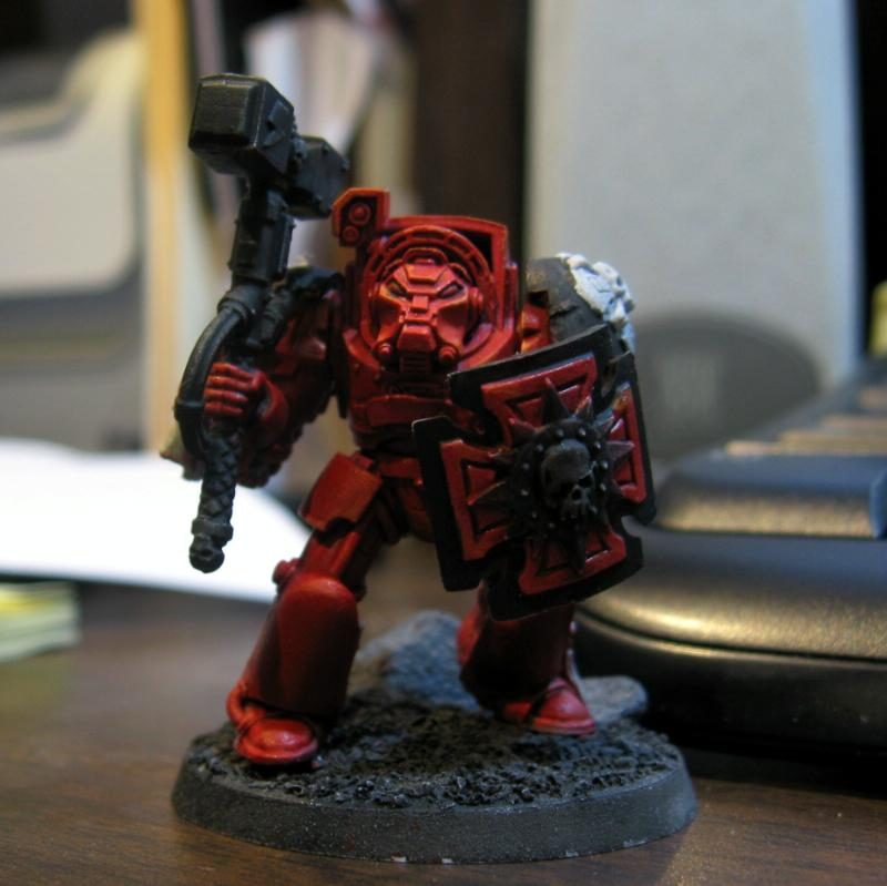 Blood Angels, Flesh Tearers, Terminator Armor, Thunder Hammers, Warhammer 40,000, Work In Progress
