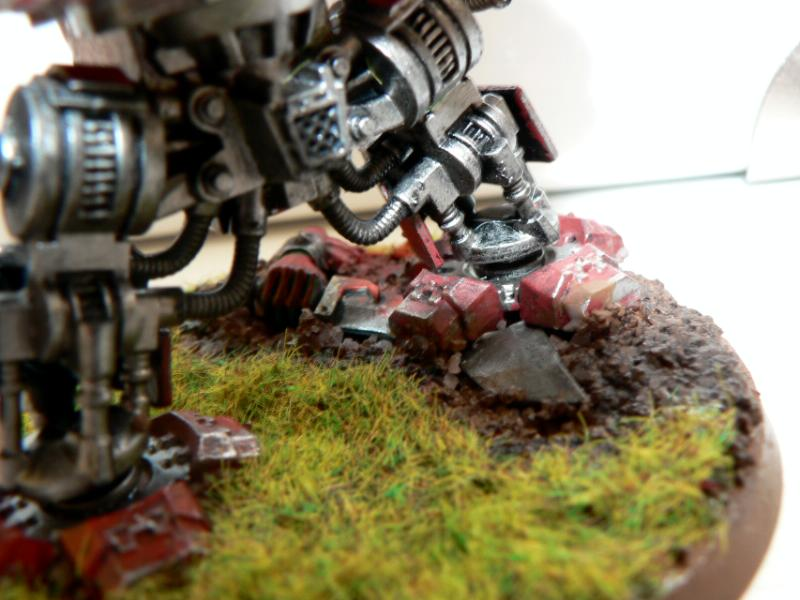Dreadnought, Genesis Chapter, Ork Abuse, Space Marines