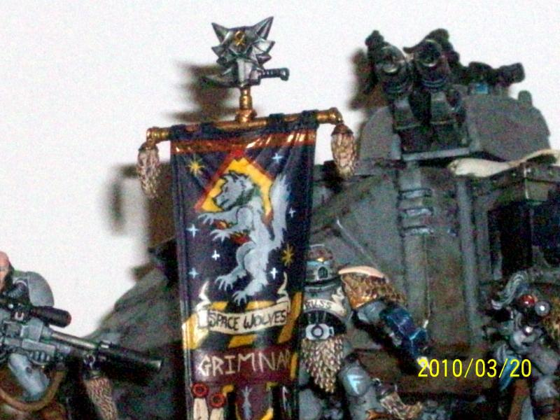 Space Wolves Banners Banner, Space W...