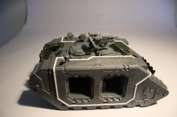 Space Marine Land Raider Internal Hatch Spare Warhammer 40k Conversion Bits