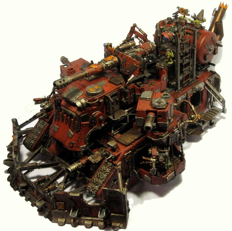Battle Fortress, Conversion, Looted, Orks, Super-heavy