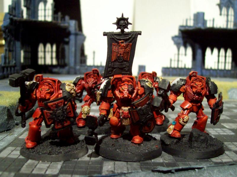 Assault, Blood Angels, Flesh Tearers