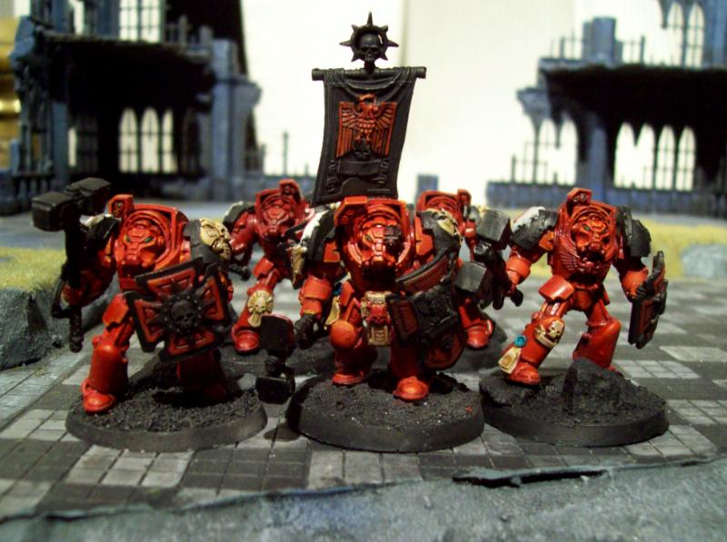 Assault, Blood Angels, Flesh Tearers, Terminator Armor, Warhammer 40,000, Work In Progress