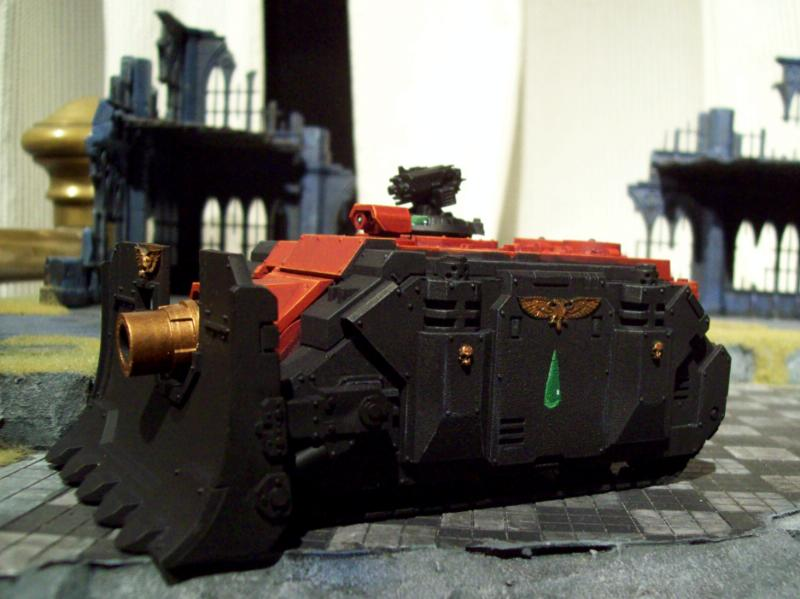 Blood Angels, Flesh Tearers, Vindicator