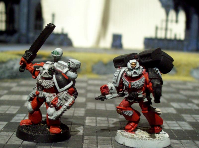 Blood Angels, Flesh Tearers, Sanguinary High Priests