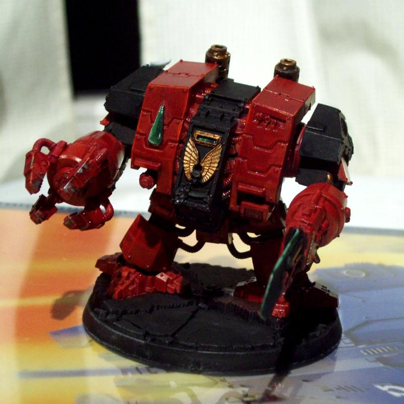 Blood Angels, Flesh Tearers, Librarian Dread